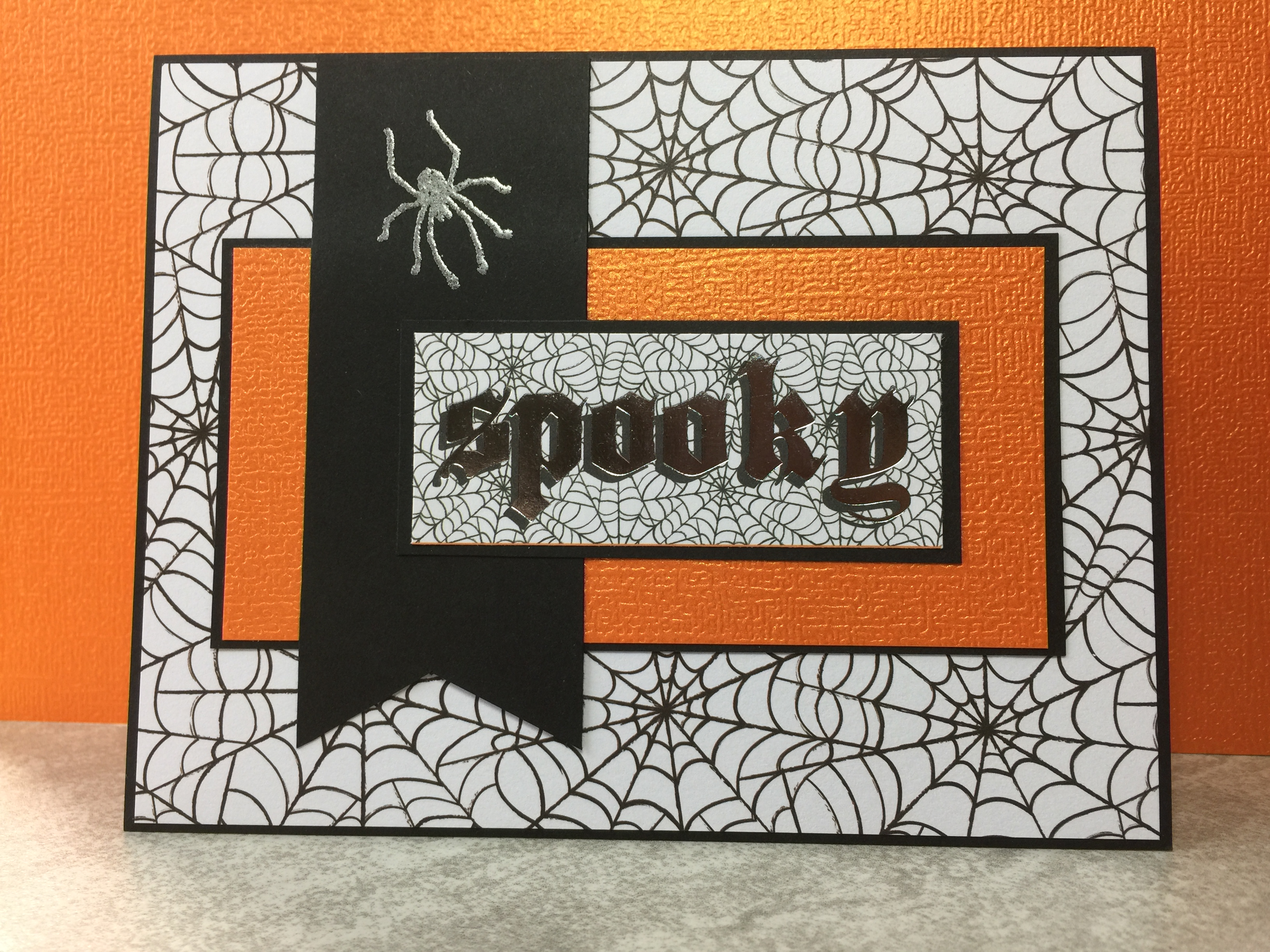 challenge – something spooky – peridot cards